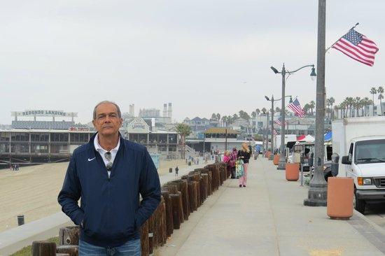 Redondo Beach Pier: Pier de Redondo Beach.