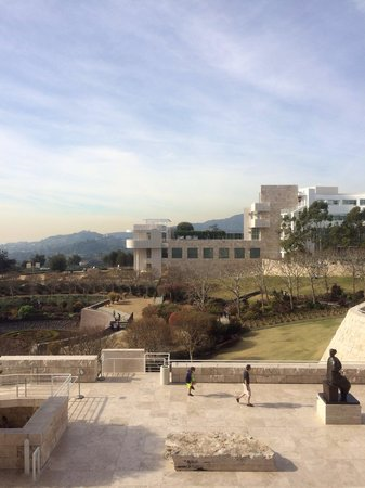 Centro Getty: View of the Musuem