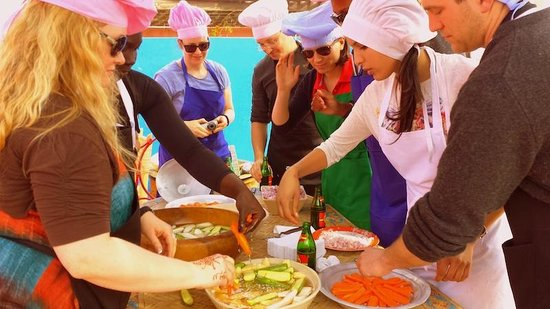 Backpackers' Cooking Class