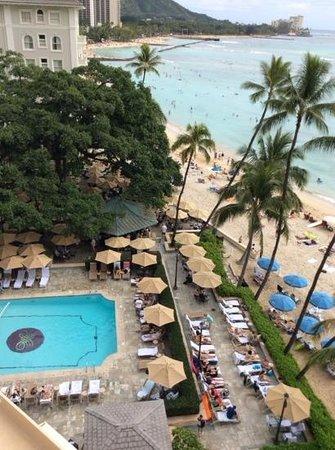 Moana Surfrider, A Westin Resort & Spa: from my room