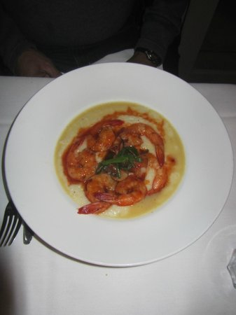 Nola Restaurant: shrimp and grits