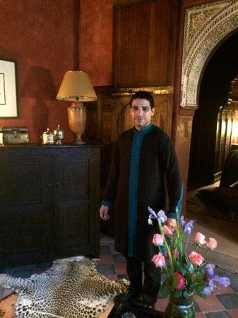 Riad Dar Darma: Hicham - always nice and pleasant