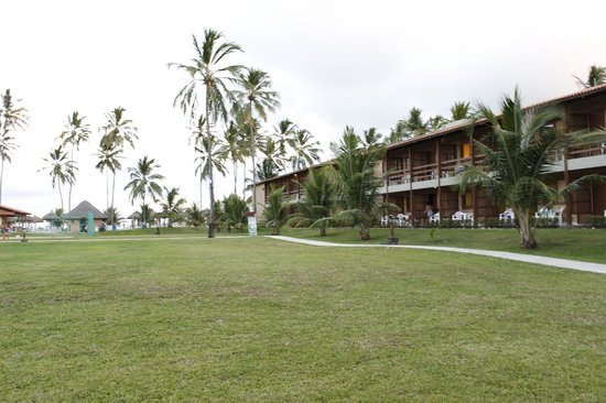 Salinas Maragogi All Inclusive Resort: Bloco de aptos vista lateral mar