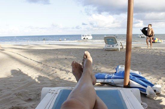 Salinas Maragogi All Inclusive Resort: Praia na frente do hotel