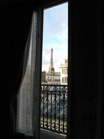 Splendid Hotel : Superior room view to the Tour Eiffel