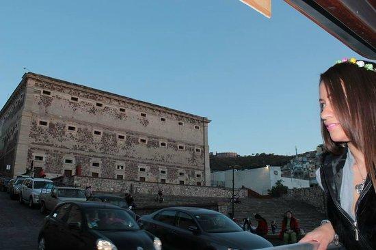 Alhondiga de Granaditas: Vista Exterior