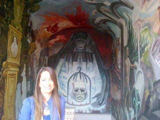 Alhondiga de Granaditas : Mural