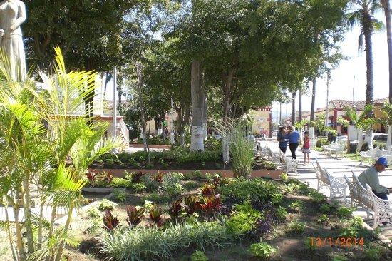 Copala: Central Plaza and Gazebo at Concordia