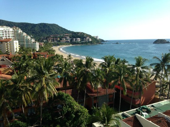 Emporio Ixtapa: View from our room
