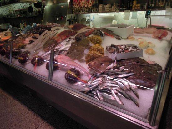 Östermalm Saluhall: seafood lover