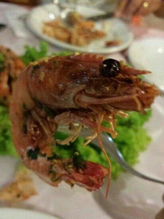 Aromas e Sabores: Sorria camarão! !!