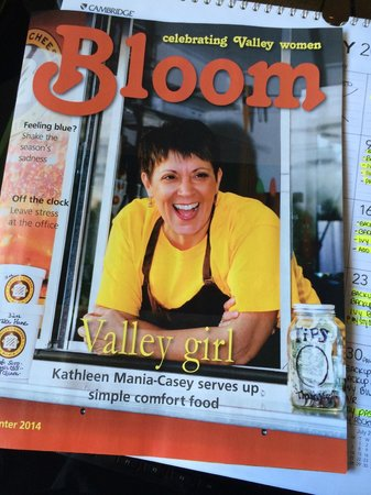Grilled Cheese Mania: Look at that... Bloom Magazine tells the story behind GCM:)