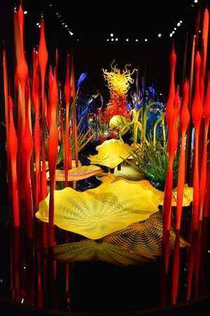 Jardín y cristal Chihuly: takes your breath away!