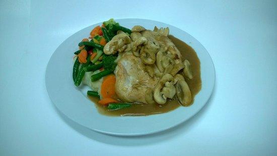 Seasons Restaurant : Chicken Marsala
