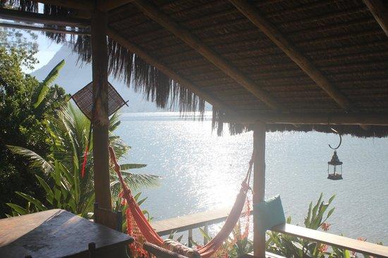 Refugio Mamangua Paraty: Vista da varanda.