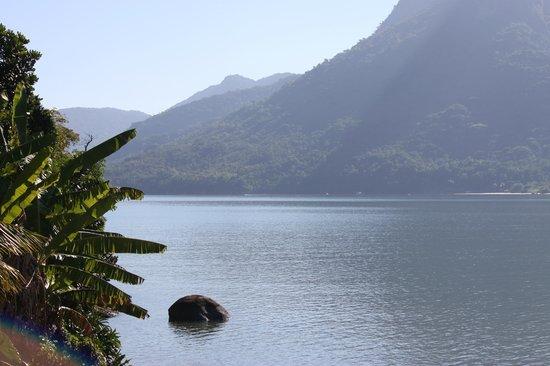 Refugio Mamangua Paraty: Vista do chalé.
