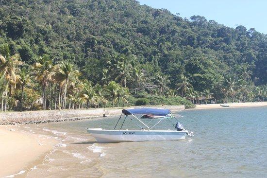 Refugio Mamangua Paraty: Uma das praias permanentes.