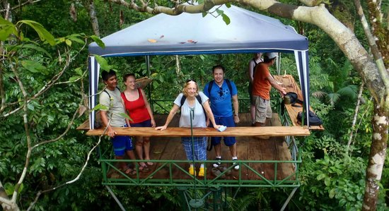Drake Bay, Costa Rica: Everybody on the platform