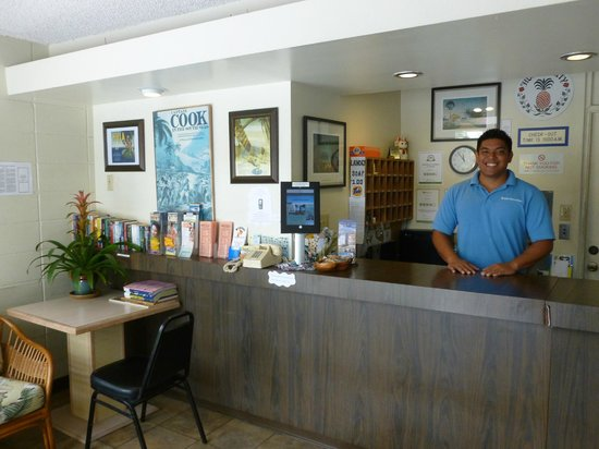 Waikiki Central Hotel: Lobby