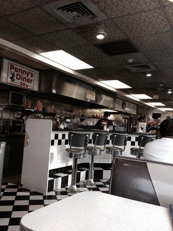Penny's Diner: 50's Diner Feel