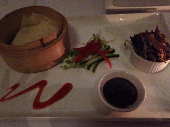 Watergate Restaurant & Lounge Bar : Duck pancakes
