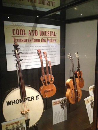 Country Music Hall of Fame and Museum : Some of the Guitars showcased!