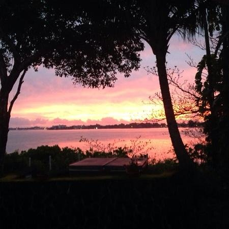 The Bay House : Sunrise, February 4, 2014 from our Lanai!
