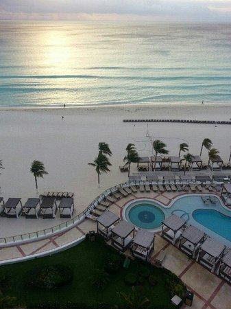 Hyatt Zilara Cancun : The morning sun