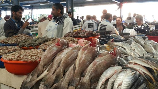 Dubai Deira Fish Souk: Fish Market