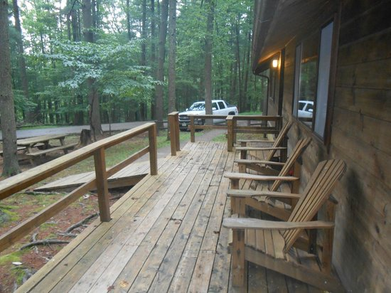 North Bend State Park: Front Porch