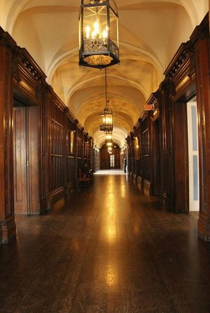 Casa Loma: Hallway on the main floor.