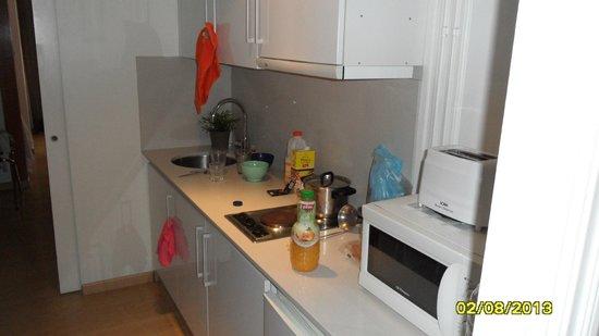 BcnStop Sagrada Familia: Кухня