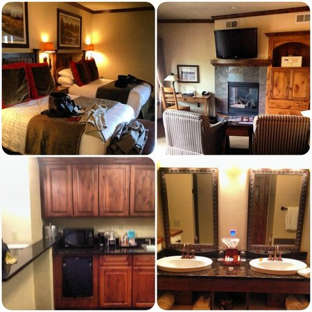 Lodge at Whitefish Lake: Our room