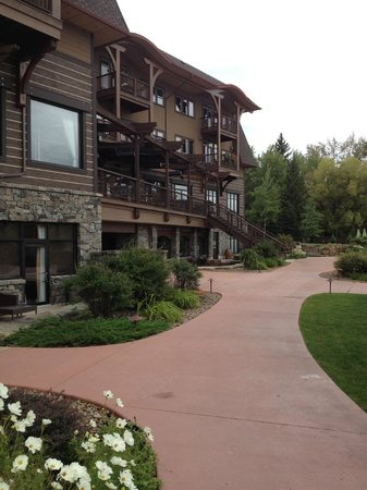 Lodge at Whitefish Lake: Outside