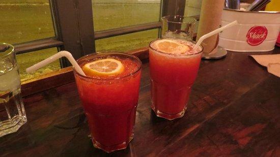 Le Chic Shack : Boissons gazeuses artisanales (aux framboises et à l'orange)