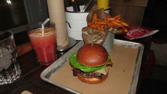 Le Chic Shack : Burger et frite aux patates douces