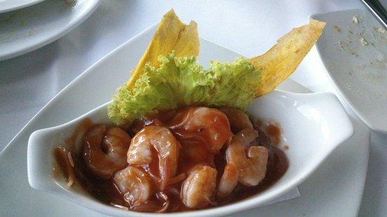 Restaurante La Regatta: Ceviche de camarón