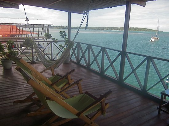 Bocas Inn: upper deck