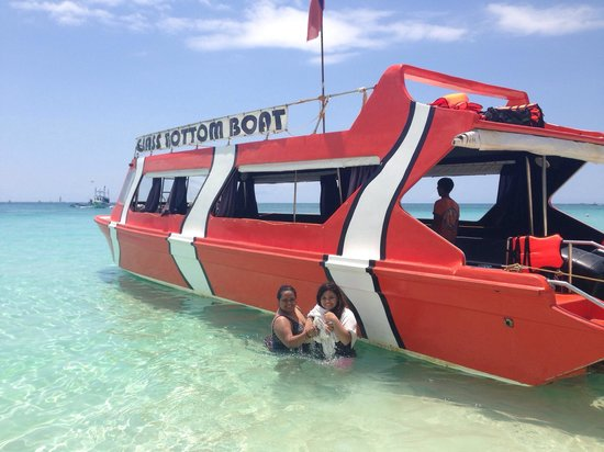 Glass Bottom Boat Boracay day tours: JP, April 2013