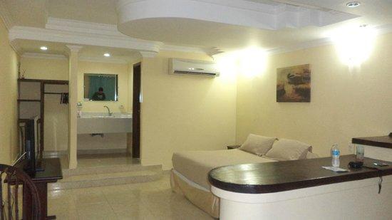 Apartahotel Las Americas: esta es una de las habitaciones que nos toco ocupar