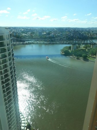 Brisbane Marriott Hotel: View from the room on the 25th floor.