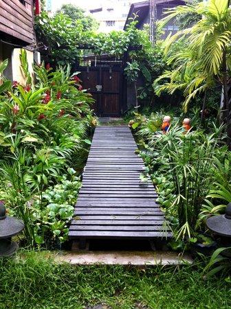 Chiang Mai Summer Resort: 一进门就可以看到的小路