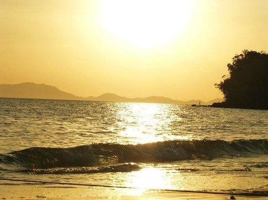 Beyond Resort Krabi: Закат вид с пляжа beyond