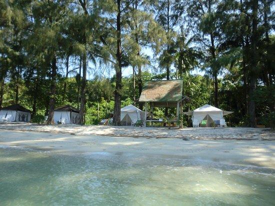 The Naka Camp Hostel: Tents