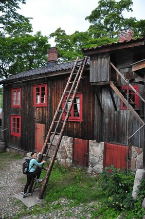 Luostarinmaki Handicrafts Museum: all the woodworks!