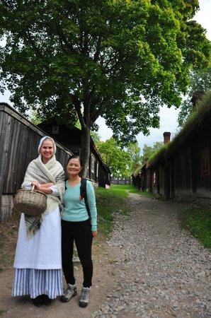 Luostarinmaki Handicrafts Museum: my mum