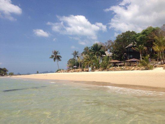 Beyond Resort Krabi: Море у отеля