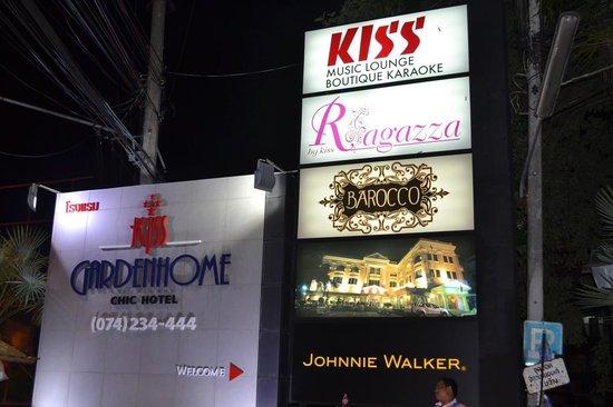 Kiss Gardenhome Chic Hotel: Entrance