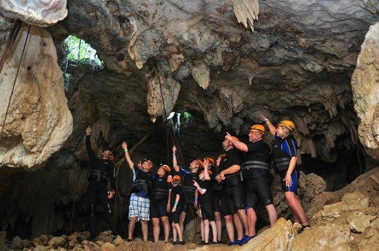 Rio Secreto: Inside cave