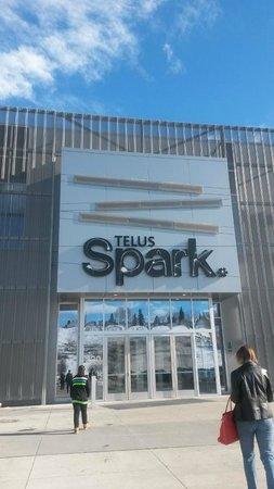 TELUS Spark: exterior